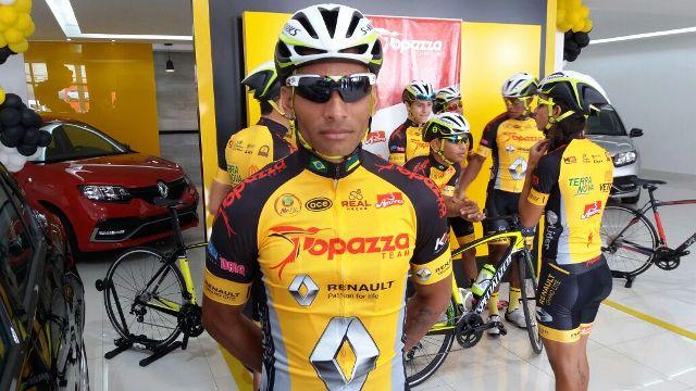 Alex Fábio, principal vencedor da Volta do Ceará