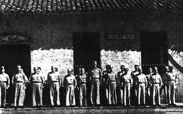 1959: Guarda Territorial seria substituída pela PM poucos anos depois. Acervo: Amiraldo Bezerra