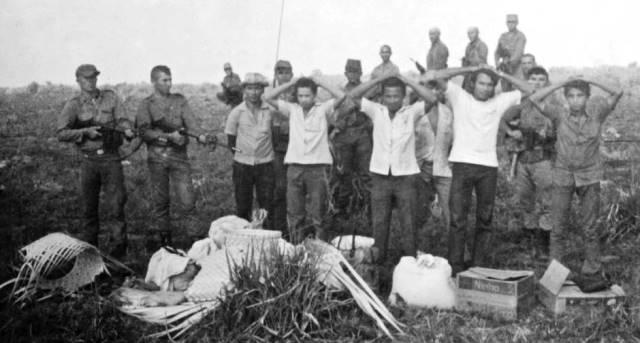 Militares condenados evitam falar sobre a Guerrilha
