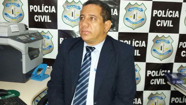 Delegado Sandro Torrinha: arranhões de mulher