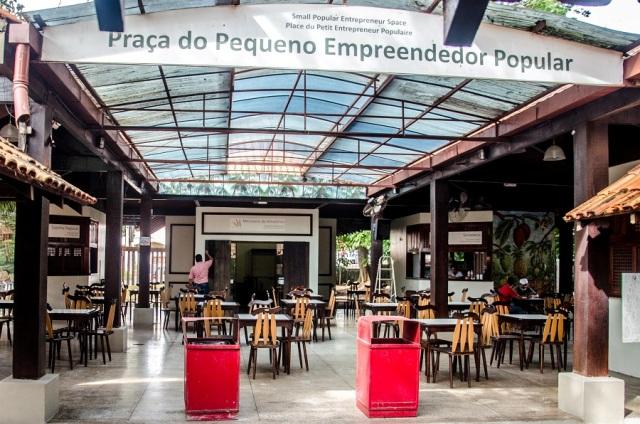 praça do empreendedor popular museu sacaca