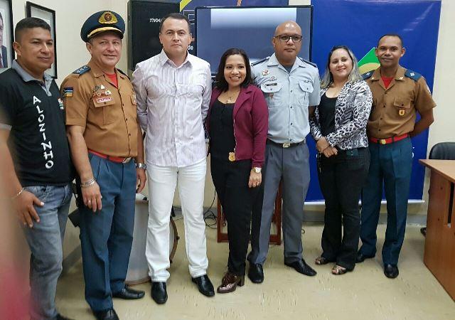 Coordenação do projeto composta por equipe de agentes da segurança pública