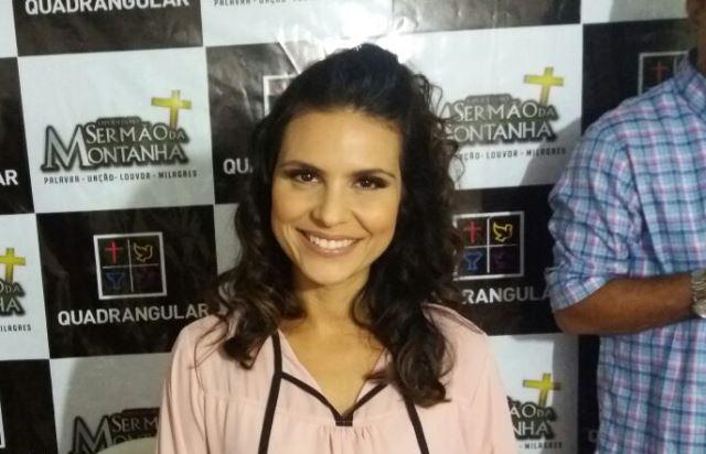 Aline Barros: parte da missão
