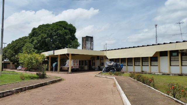 Hospital está sem vigilância desde junho do ano passado. Fotos: Leonardo Melo