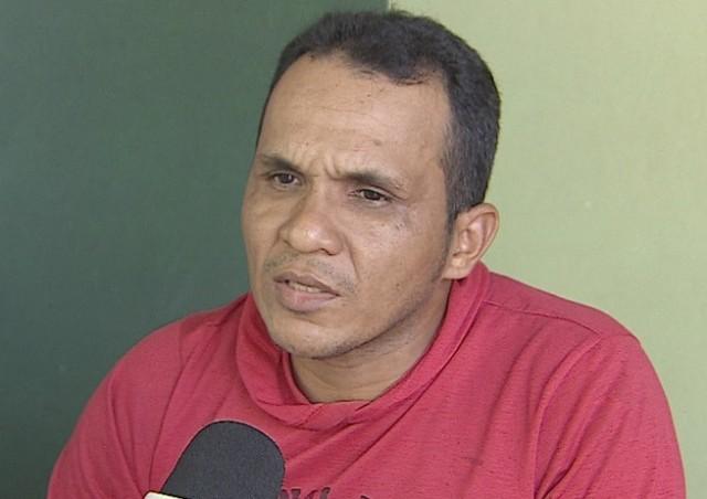 Robson Nazário, tio da criança: