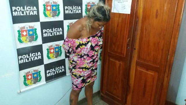 Cláudia Ferreira Dias tinha negado existência de drogas em sua casa