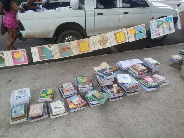 Venda de livros na Floriano Peixoto (2)