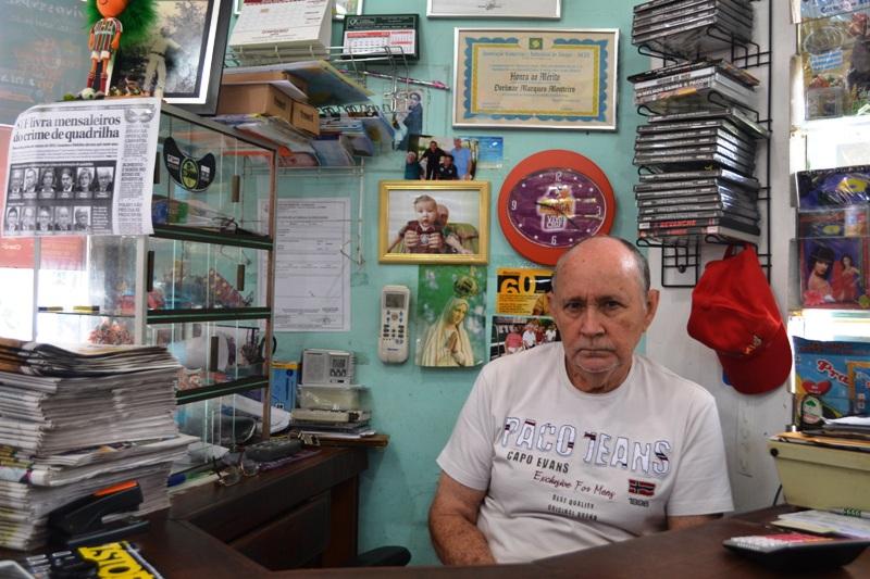 Dorimar: de garçom da Icomi a dono da banca revistas mais tradicional do AP