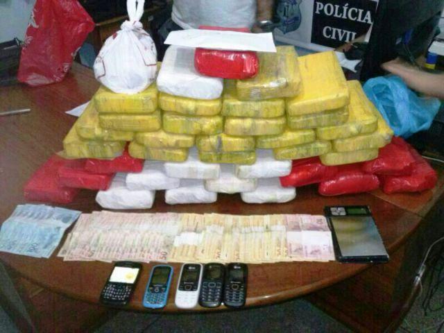 Polícia Civil apreende R$ 500 mil em crack no Zerão
