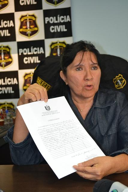 """""""Na minha visão policial não há dúvida"""", diz delegada depois de comentário do diretor da Politec"""