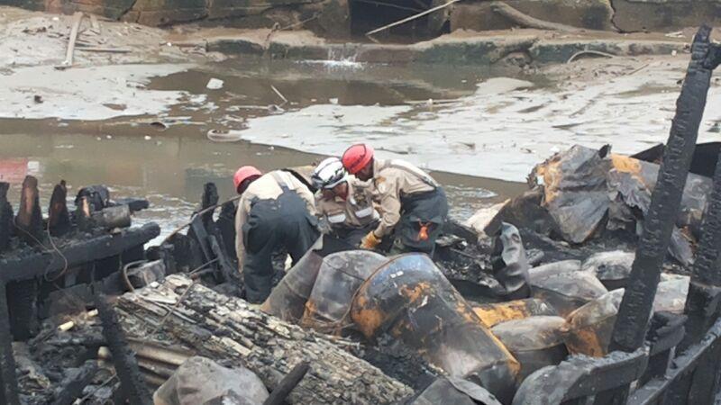 Ossada encontrada em escombros pertence à vítima desaparecida