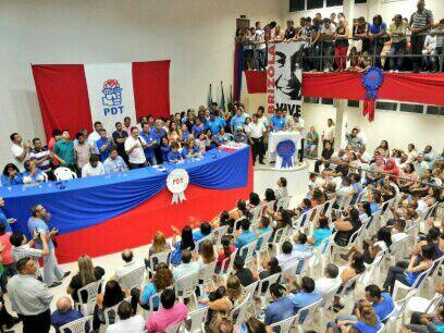 Em Santana, Waldez lança pré-candidatura ao Governo