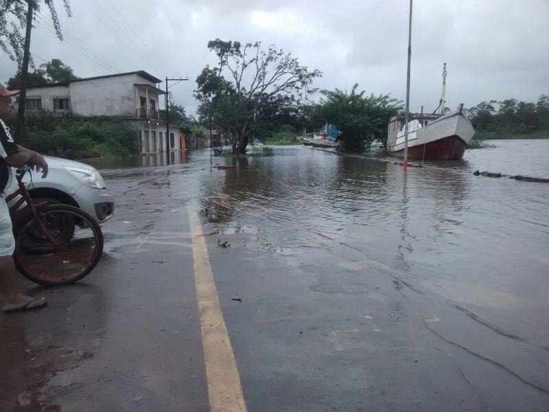 Rio Calçoene vai subir mais nas próximas horas, afirma Defesa Civil