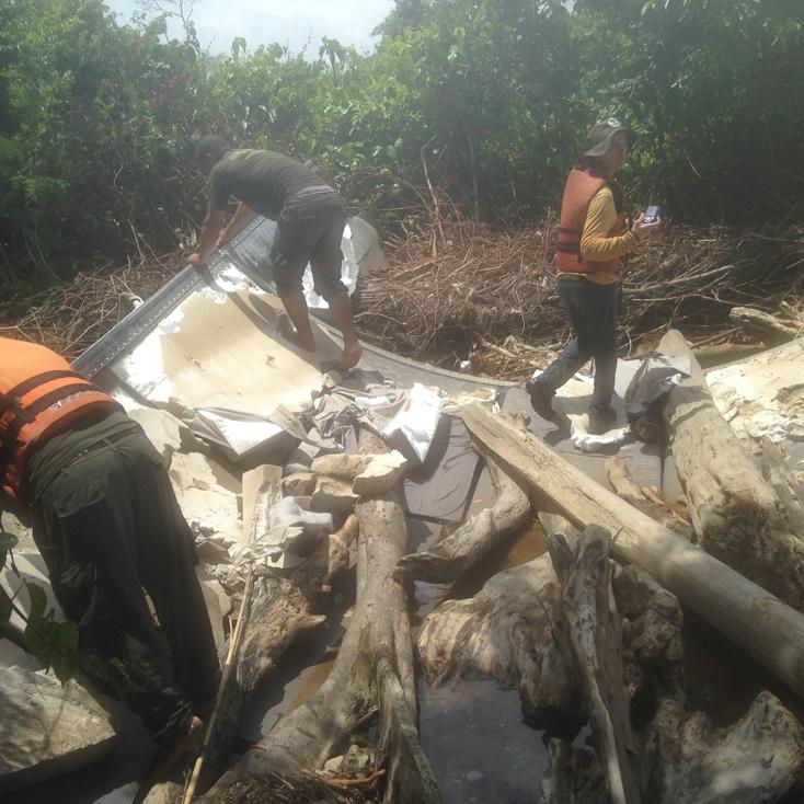 Destroços encontrados na costa do Amapá podem não ser de avião