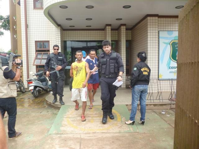 Policiais civis do Pará acusados de assaltos são transferidos