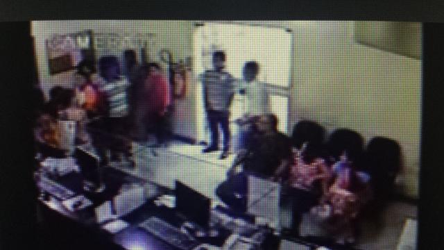 Vídeo mostra assalto ao Câmara de Dirigentes Lojistas