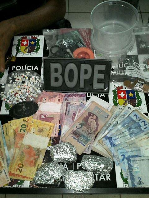 Bope prende traficantes no Congós