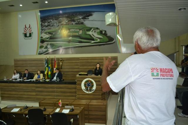 Vereadores debatem lei que define investimentos em Macapá para 2015