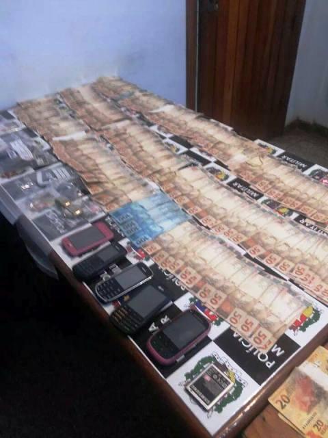 Quadrilha presa pode estar envolvida em assalto ao Banco do Brasil