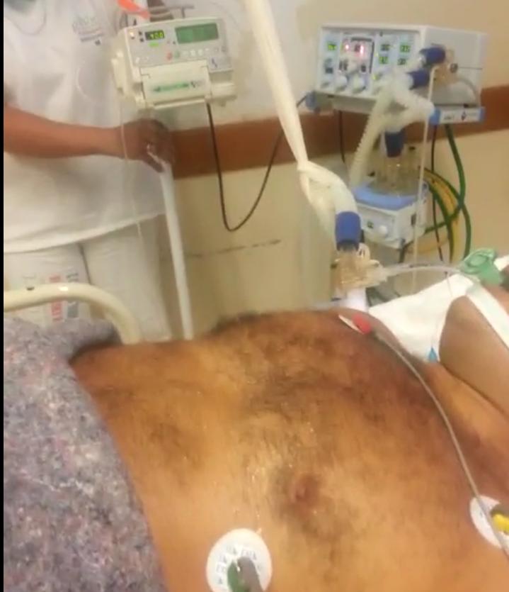 NOVO VÍDEO mostra goteira pingando em paciente na UTI do HE