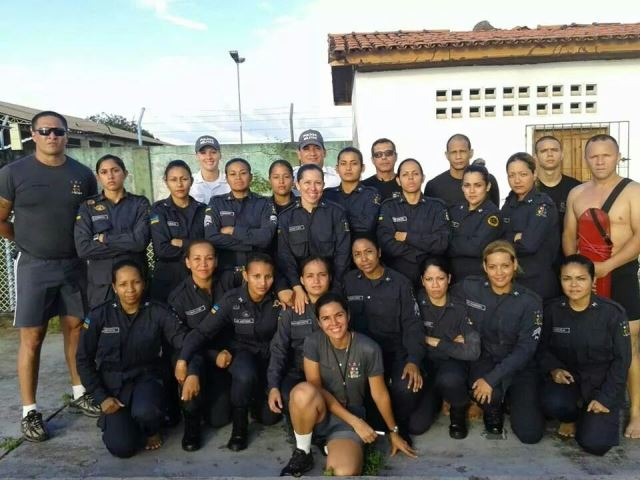 Policiais femininas fazem curso de Operações Especiais