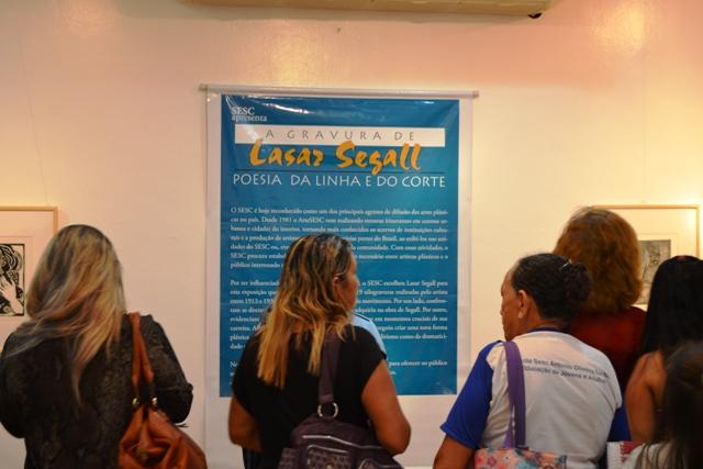 Exposição oficial de Lasar Segall fica até 26 de setembro no Amapá
