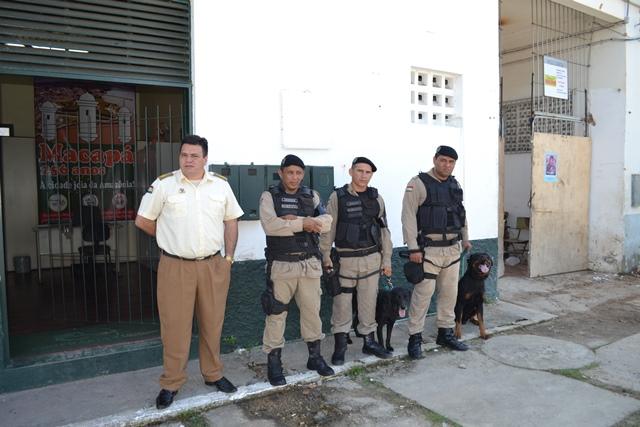 Guarda Municipal de Macapá se prepara para trabalhar armada