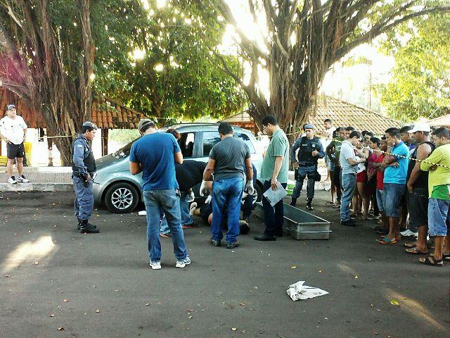 Homem é morto a facadas em frente a Escola de Administração Pública