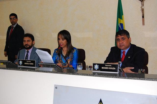 Moisés Souza é afastado após dois dias como Presidente da Assembleia