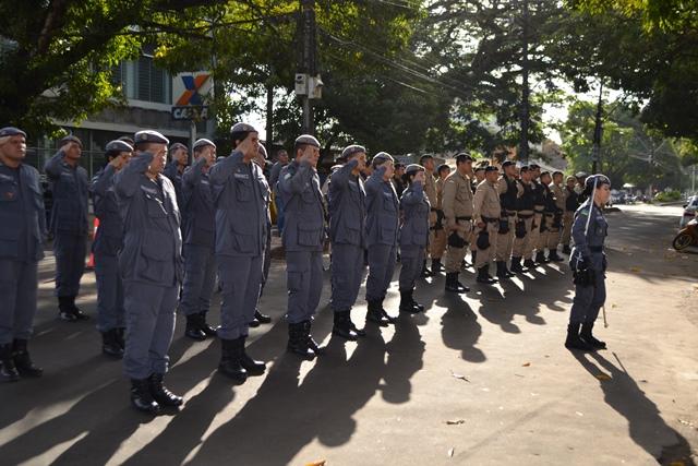 PM e Guarda começam policiamento único no Centro de Macapá