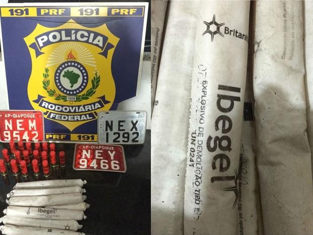 Polícia procura dono de dinamite apreendida em Oiapoque