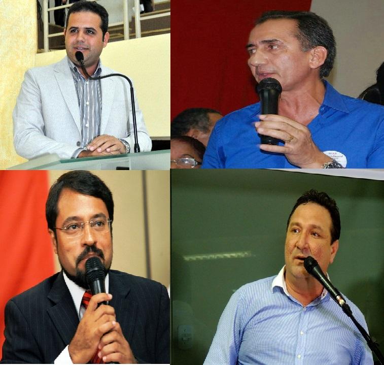 Quatro candidatos ao governo já gastaram quase R$ 2 milhões