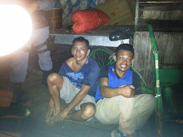 Ladrões de camarão são presos no centro de Macapá