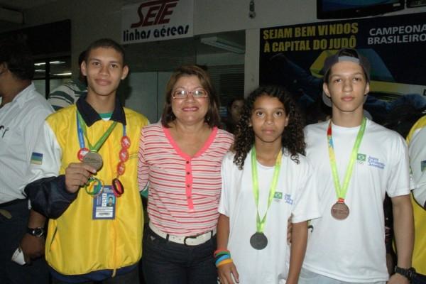 Amapá é ouro nos Jogos da Juventude