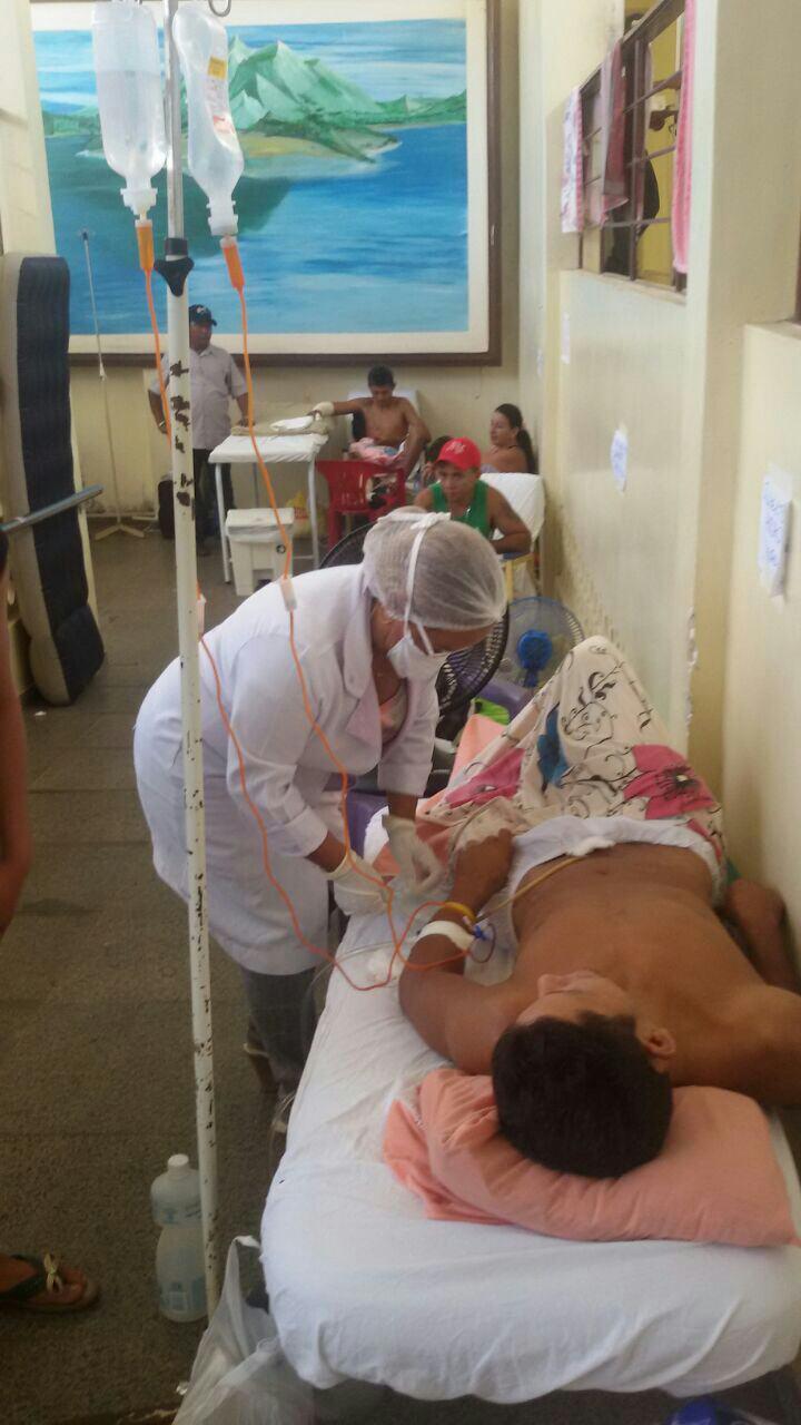 Hospital de Emergência, uma casa de sofrimentos