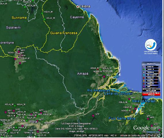 Focos de incêndio ameaçam Reserva Biológica no Amapá