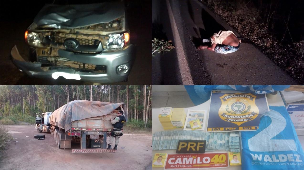 PRF registra uma morte na Operação Carnaguari