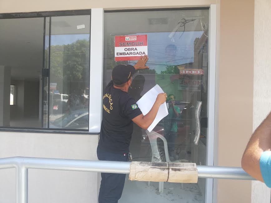 78 obras serão embargadas pela Prefeitura em Macapá