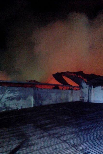Armazém Brasil: Focos de incêndio à noite assustam moradores