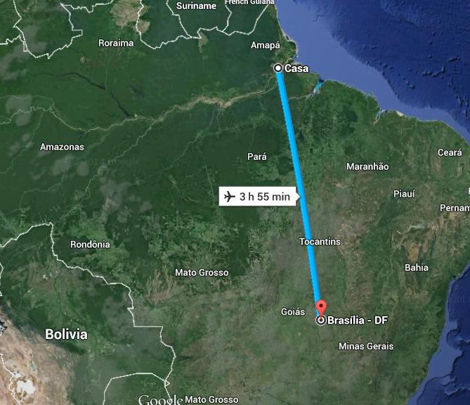 Amapá ganha primeiro voo Macapá/Brasília sem escala