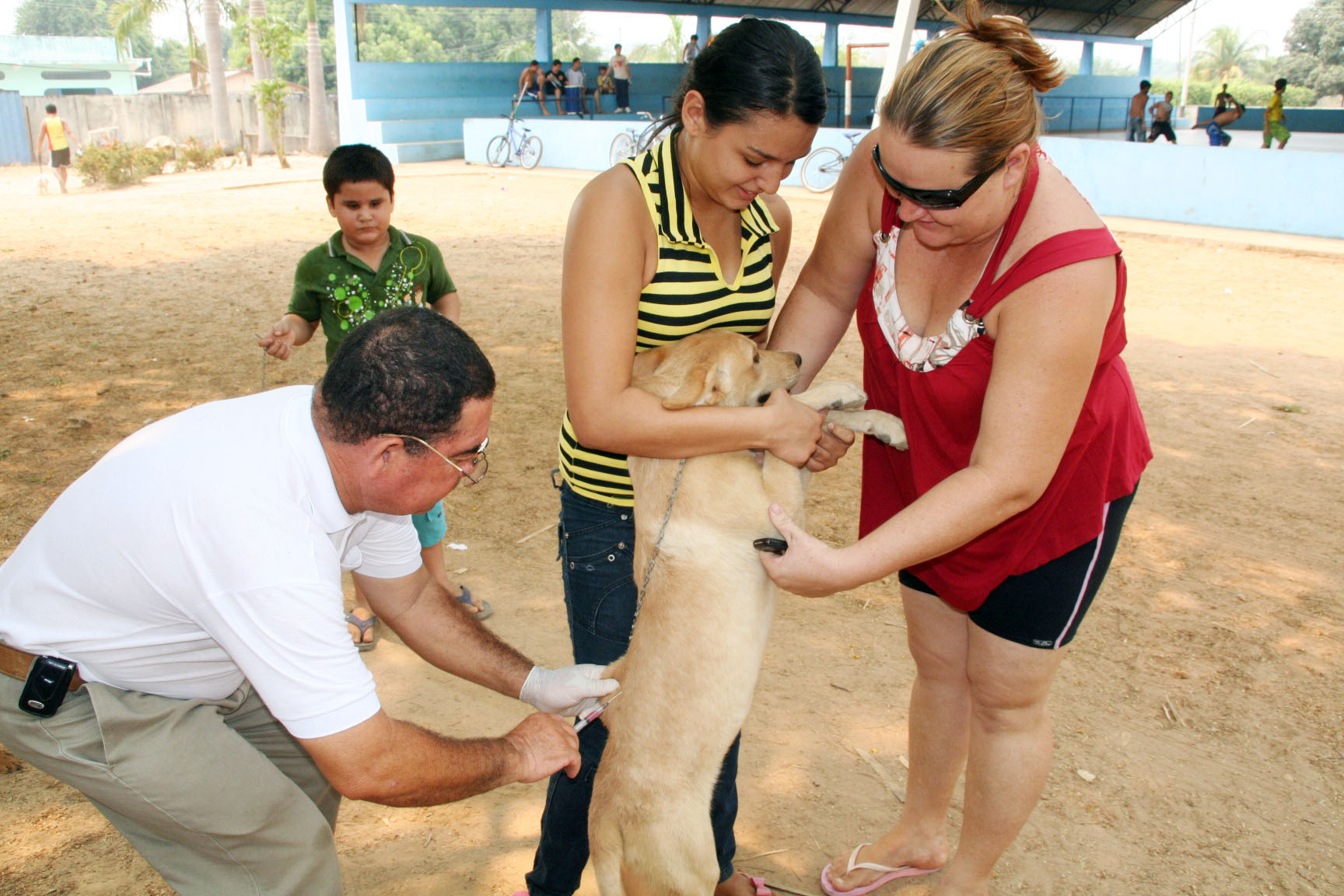 Veja onde vacinar seu cãozinho