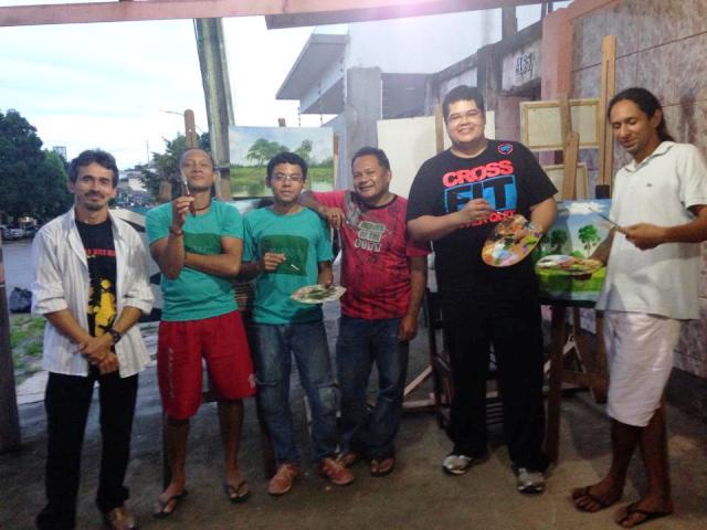 Artistas do Amapá descortinam a Amazônia