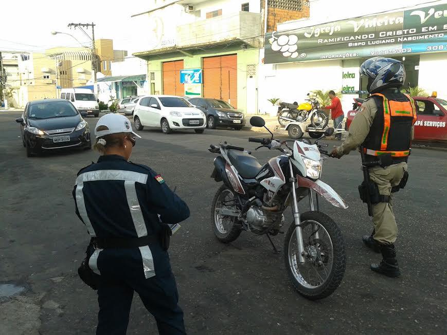 Fiscais apreendem mais de 150 motos irregulares em um mês