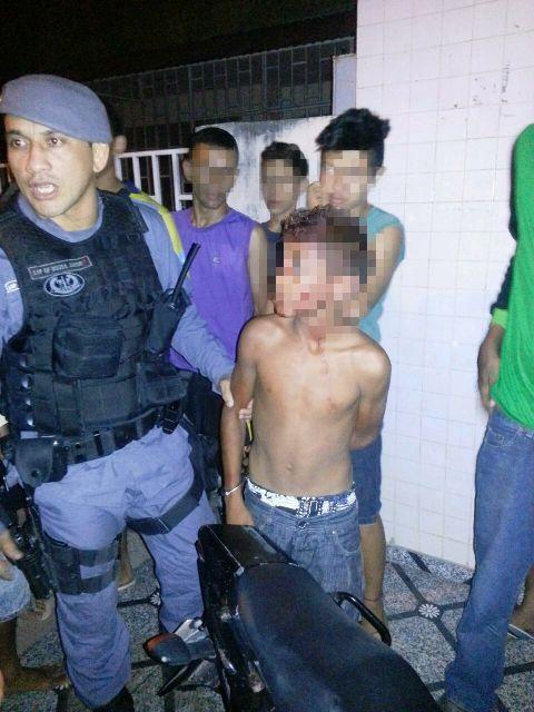 Assaltante de 13 anos já tem 4 passagens pela polícia