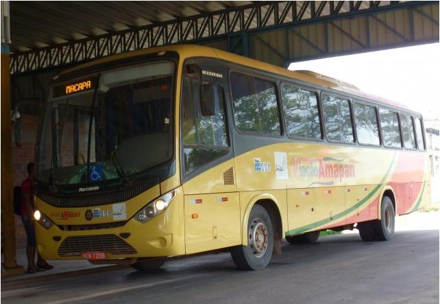 Ônibus é assaltado na BR-210