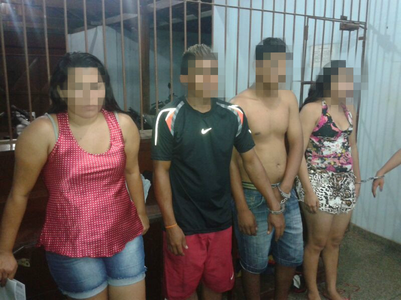 Quadrilha de adolescentes vendia drogas e assaltava