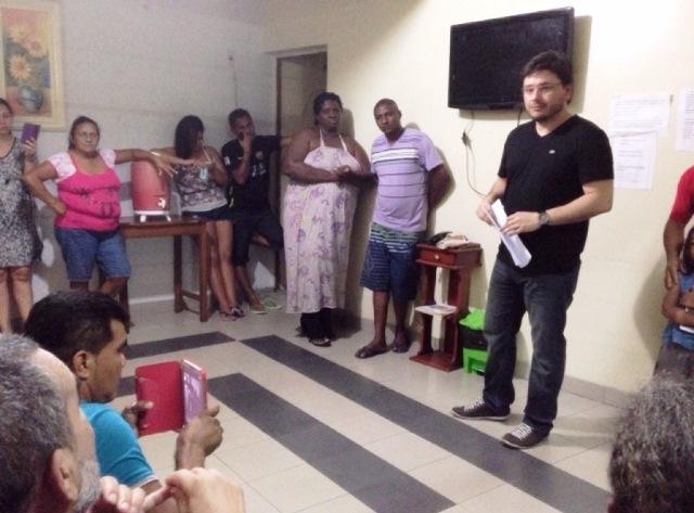 Promotor inspeciona Casa de Apoio do TFD em Belém