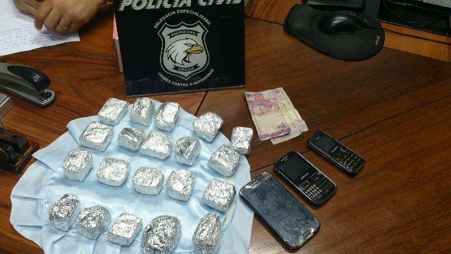 """""""Roubos sustentam o tráfico de drogas"""", diz delegado ao prender assaltante"""