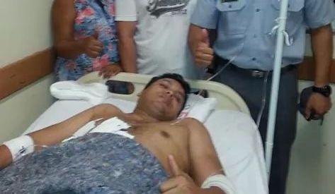 Fora de perigo: Sargento do Bope passa por cirurgia; assaltante já tinha sido preso com dinamite