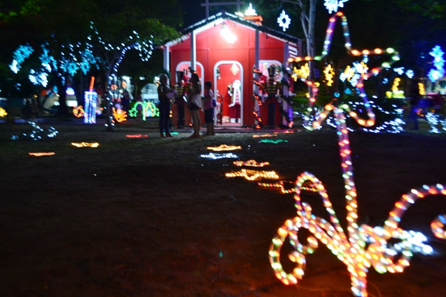 Natal ilumina Macapá